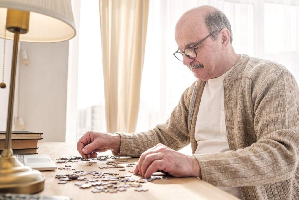 Dobre puzzle dla seniorów